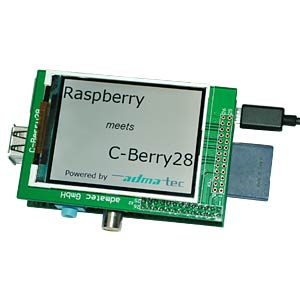 2.8 Zoll Display für Raspberry Pi