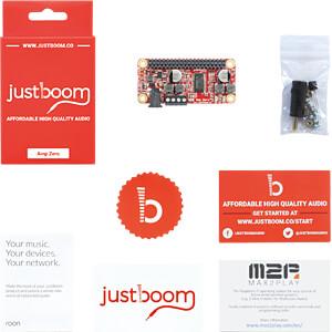 Shield Raspberry Pi Zero - JustBoom Amp Zero pHAT JUSTBOOM JUSTBOOM AMP ZERO