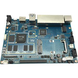 Banana Pi Router 2, 2x 1 GHz, 1 GB, Wi-Fi, 5x 1 Gbit SINOVOIP BANANAPI-R2+2X5DB