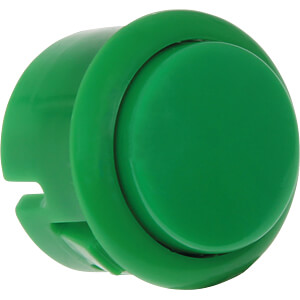 Mini Arcade Button mit Mikroschalter, grün JOY-IT BUTTON-GREEN-MINI