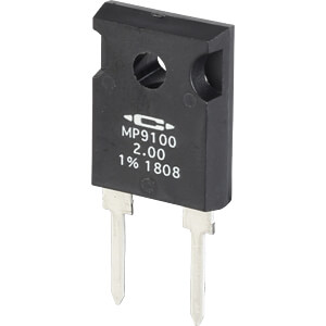 Dickschichtwiderstand, radial, 30 W, 0,5 Ohm, 1% CADDOCK MP930-0.50-1%