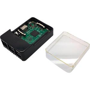 Gehäuse für Raspberry Pi 3, schwarz MULTICOMP CBPIHAT-BLK