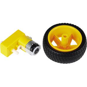 COM MOTOR04 - Getriebemotor mit Rad