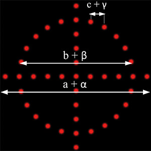 DOE Lasermodul 635 nm, rot, Viewfinder ( Dot Circle + Cross) PICOTRONIC 70132175