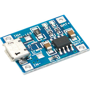 DEBO2 3.7LI 1.0A - Entwicklerboards - Ladeplatine für 3,7V Li-Akkus