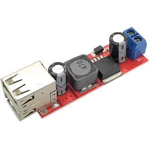 Entwicklerboards - Spannungsregler 6...40 V DC auf 2x USB 5V/3A SERTRONICS REG5V3A