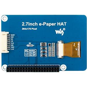 Waveshare 264x176 2.7 inch E-ink display has Raspberry Pi 3 Colour 13357