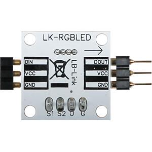 Entwicklerboards - LED, 8 mm, RGB JOY-IT LK-LED-RGB