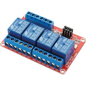 Entwicklerboard - Relais-Modul, 4 Channel, 5 V SERTRONICS HLRELM-4