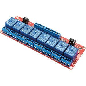 Entwicklerboards - Relais-Modul, 8 Channel, 5 V FREI