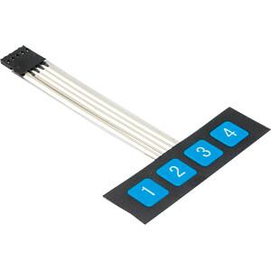 DEBO TAST 1X4 - Entwicklerboards - Folientastatur