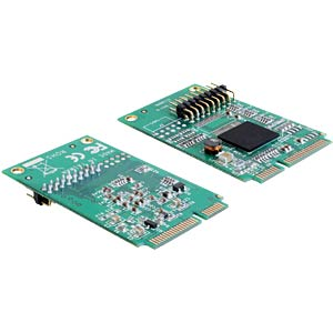 MiniPCIe I/O PCIe full size 1xParallel DELOCK 95227