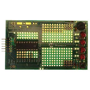 18-pin expansion board for PICkit 2 MICROCHIP DM164120-4