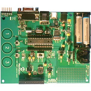 XLP nanoWatt 16-bit development board MICROCHIP DM240311