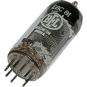 TUBE EBC81 - Elektronenröhre