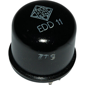 TUBE EDD11 - Elektronenröhre