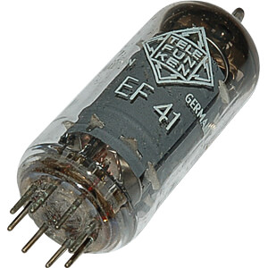 Elektronenröhre, Pentode, B8A, 8-pol, 6,3 V FREI EF41
