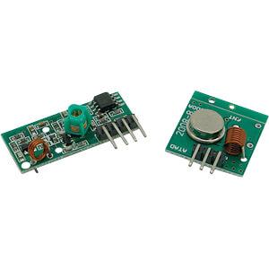 Entwicklerboards - 433 MHz RX/TX Modul SERTRONICS FS1000A