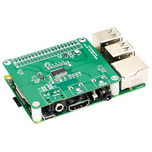 Raspberry Pi Shield - HiFiBerry DAC+ PJ HIFIBERRY HIFIBERRY DAC+ PJ