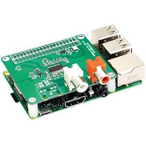 Raspberry Pi Shield - HiFiBerry DAC+ RCA HIFIBERRY HIFIBERRY DAC+ RCA