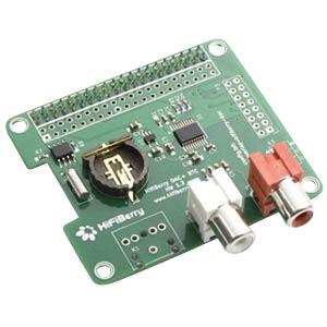 Raspberry Pi Shield - HiFiBerry DAC+ RTC HIFIBERRY HIFIBERRY DAC+ RTC