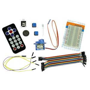 Raspberry Pi - La jeunesse programme un kit infrarouge CODING WORLD P-155