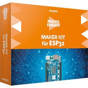 IS 9-631-67093-9 - ESP32 - Mach's einfach: Maker Kit für ESP32 (DE)