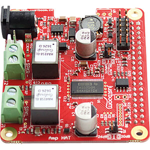 Raspberry Pi Shield - JustBoom Amp HAT JUSTBOOM JUSTBOOM AMP HAT