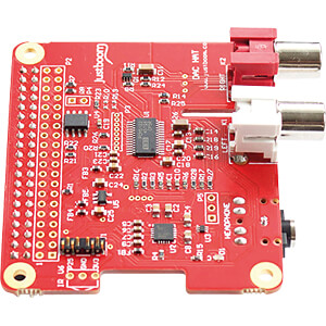 Raspberry Pi Shield - JustBoom DAC HAT JUSTBOOM JUSTBOOM DAC HAT
