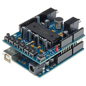 Arduino audio shield VELLEMAN VMA02