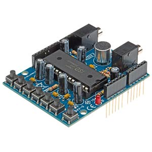 Arduino Shield - Bausatz Audio VELLEMAN KA02