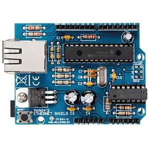 Arduino Ethernet shield kit VELLEMAN KA04