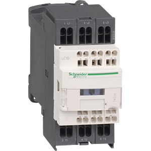 Contactor, TeSys D, 1 NC, 3 + 1 NO, 5.5 kW, 12 A SCHNEIDER ELECTRIC LC1D093P7