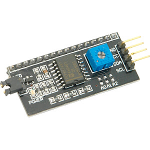LCDZ IIC-I2C - Entwicklerboards - Display Interface