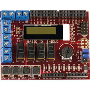 chipKIT™ Basic I/O Shield, -, I²C, Uno32, uC32, Max32 MICROCHIP TDGL005