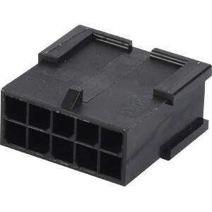 Molex Crimpgehäuse - Micro-Fit - 2x5-polig - Stecker MOLEX 43020-1001