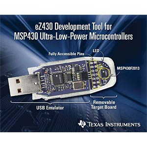 USB-Stick Entwicklungstool eZ430-F2013 TEXAS INSTRUMENTS EZ430-F2013