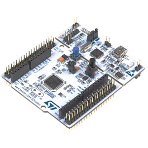 Nucleo developer board for the STM32 F0 series ST MICROELECTRONICS NUCLEO-F091RC