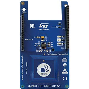 X-Nucleo NFC shield for STM32 Nucleo boards ST MICROELECTRONICS X-NUCLEO-NFC01A1
