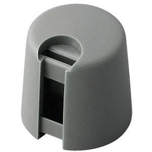 Poti-Knopf Ø 16 mm, 4 mm Achse, grau OKW A1016048