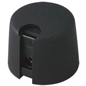 Poti-Knopf Ø 20 mm, 4 mm Achse, schwarz OKW A1020049