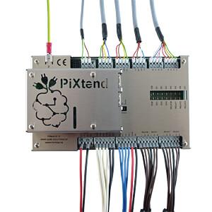 Raspberry Pi - SPS PiXtend V2.1 ePLC® Pro QUBE SOLUTIONS PIXTEND VS -2- EPLC® PRO