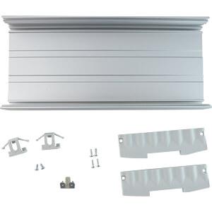 Gehäuse für Hutschiene PiXtend V2 -L-, silber QUBE SOLUTIONS 712