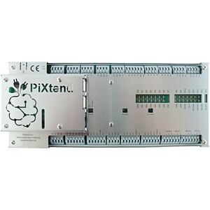 Edelstahlabdeckung für PiXtend V2 -L- Hutschienengehäuse, silber QUBE SOLUTIONS 713