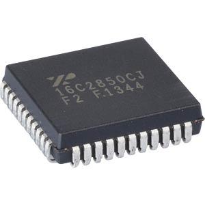 Dual UART, 2CH, 128byte, FIFO, PLCC-44 EXAR XR16C2850CJ-F