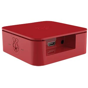 Gehäuse für Raspberry Pi 3 & 2,5 HDD, rot ONE NINE DESIGN ASM-1900039-31