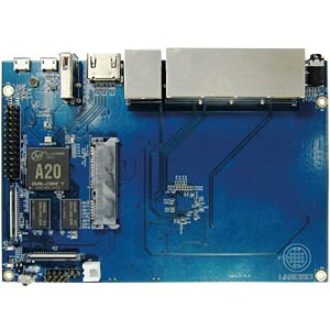 Banana Pi router, 2x 1GHz, 1GB, WIFI, 4x 1Gbit SINOVOIP BANANAPI-R1+2X3DB