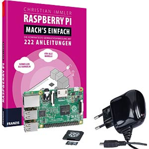 Raspberry bundle - available only in German REICHELT RASPBERRY BDL 3