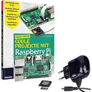 Raspberry Pi - Mehr coole Projekte inkl. Platine & Zubehör REICHELT RASPBERRY BDL 6