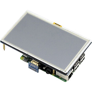 Raspberry Pi Shield - Display LCD-Touch, 5, 800x480 Pixel WAVESHARE 10563